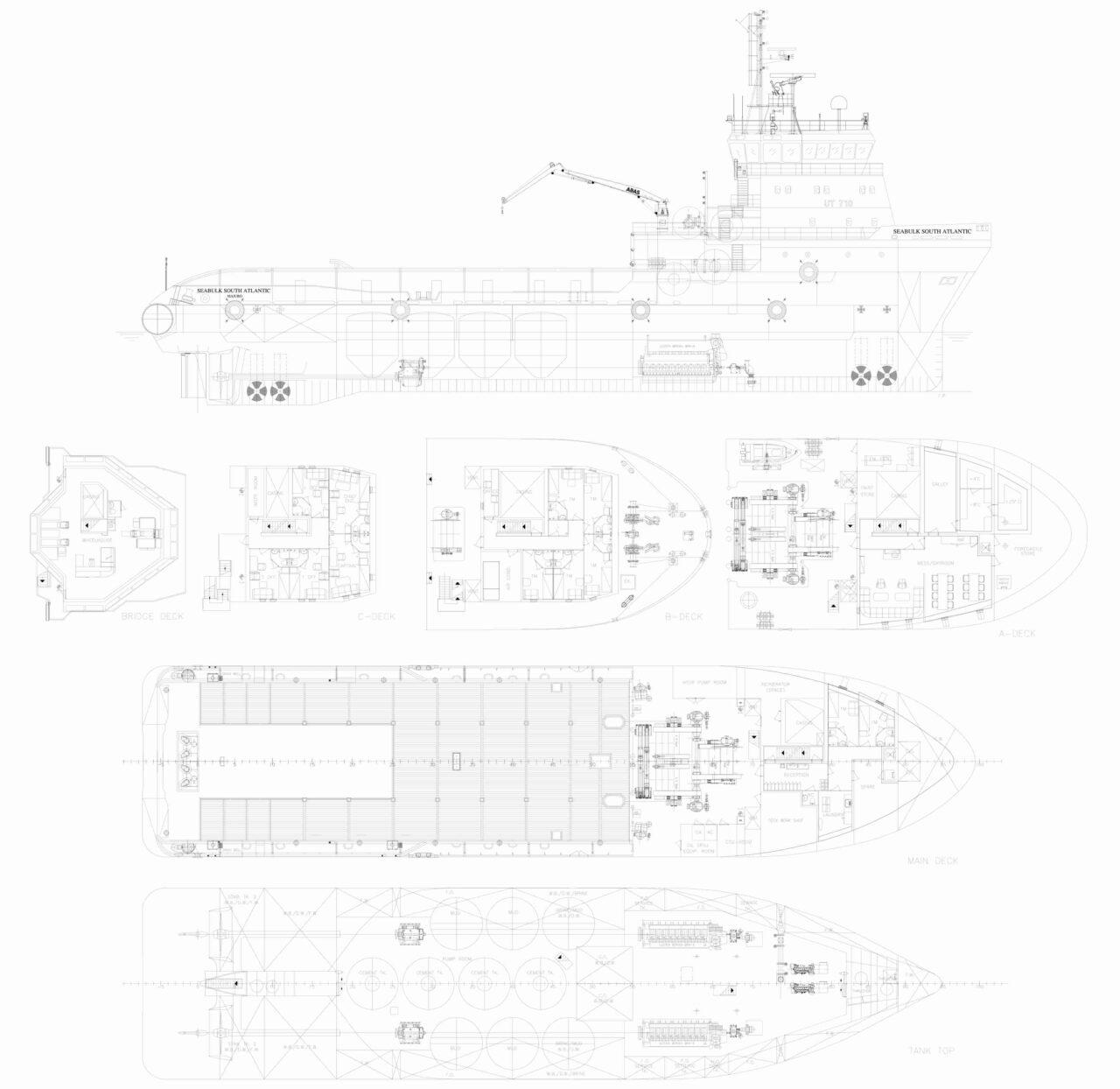 AHTS Seabulk S Atlantic GA